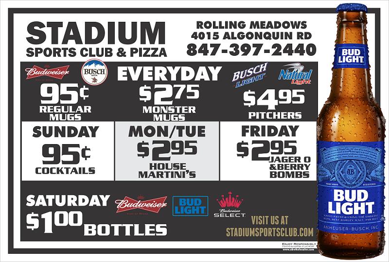 Stadium Sports Deals